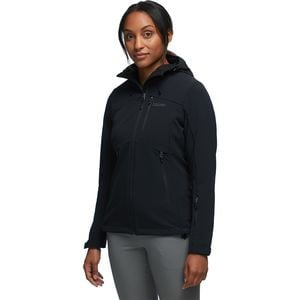 Moblis Softshell Jacket - Women's Black, XS - Good