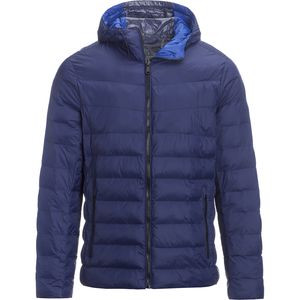 Hooded Synthetic Insulation Jacket - Men's Blue Depth, L - Excellent