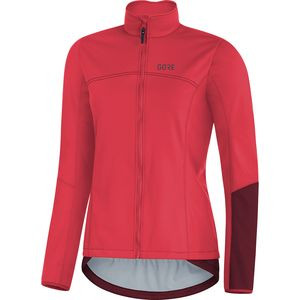 C5 Gore Windstopper Thermo Jacket - Women's Hibiscus Pink/Chestnut Red, M - Excellent