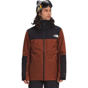 ThermoBall Eco Snow Triclimate Jacket - Men's Brandy Brown Heather/Brandy Brown, M - Excellent