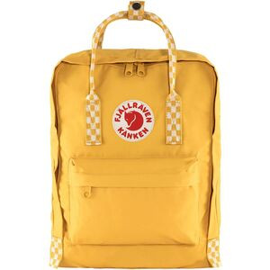 Kanken 16L Backpack Ochre/Chess Pattern, One Size - Excellent