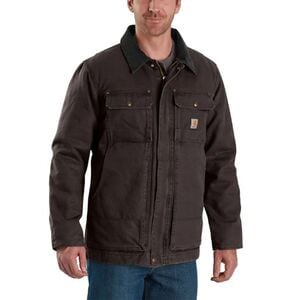 Full Swing Armstrong Traditional Coat - Men's Dark Brown, XL - Good