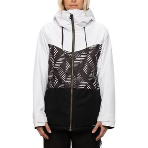 Athena Insulated Jacket - Women's Crosshatch Colorblock, S - Excellent