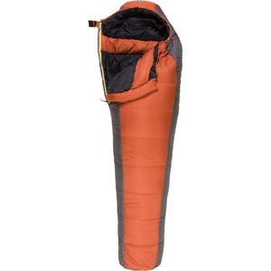 Redcloud Sleeping Bag: 20F Synthetic Burnt Ochre, Reg/Right Zip - Excellent