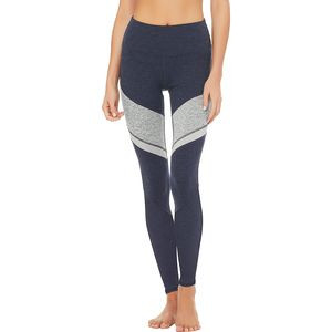 7/8 High-Waist ALOSOFT Sheila Legging RichNavyHeather/DoveGreyHeather/ZincHeather, M - Excellent