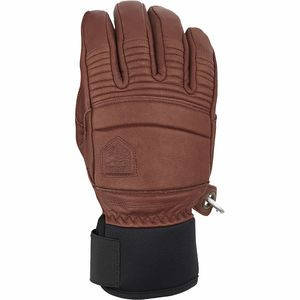 Leather Fall Line Glove - Men's Brown, 8 - Excellent