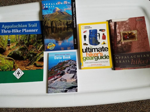 Appalachian Trail Books and Maps