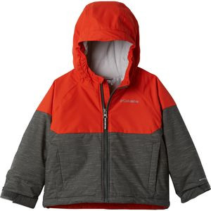 Alpine Action II Jacket - Boys' Grill Heather/State Orange, M - Good