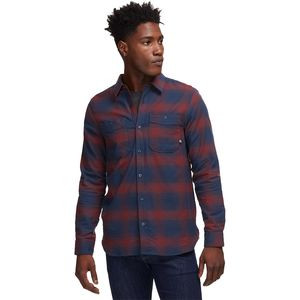 Deer Creek Heavyweight Flannel - Men's Navy Ombre, M - Excellent
