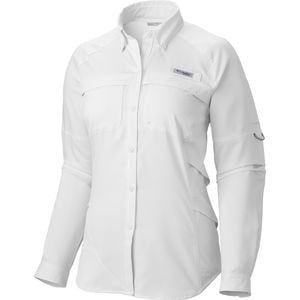 Airgal Shirt - Long-Sleeve - Women's White, L - Good