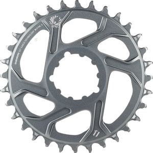 X-Sync 2 Eagle 12-Speed Direct Mount Chainring - Boost Polar Grey, 32T/3mm Offset - Excellent