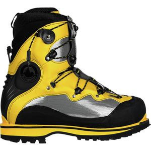 Spantik Mountaineering Boot Yellow/Grey/Black, 42.5 - Like New