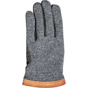 Deerskin Wool Tricot Glove - Men's Charcoal/Black, 10 - Excellent