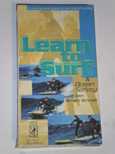 Learn to Surf and Ocean Water Safety VHS Richard Schmidt