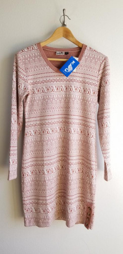 NWT Kavu Long Sleeve Dress Small