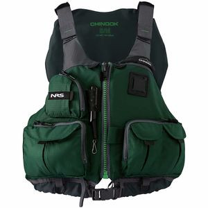 Chinook Personal Flotation Device Green, S/M - Excellent