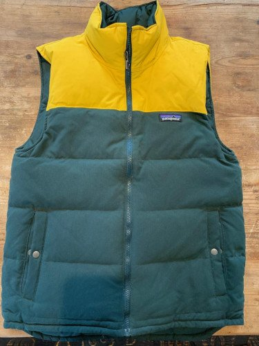 Patagonia Reversible Bivy Down Vest Mens