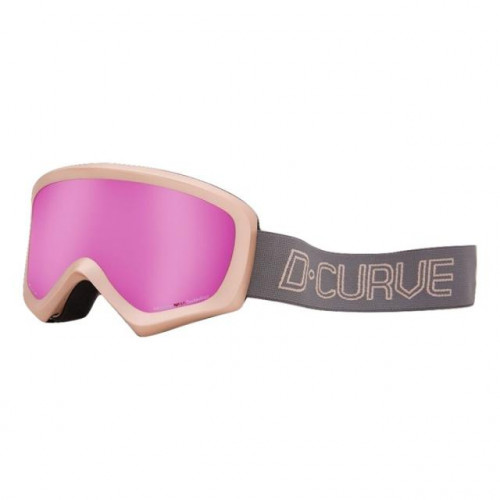 DCURVE Pano Light Pink Snow Goggles
