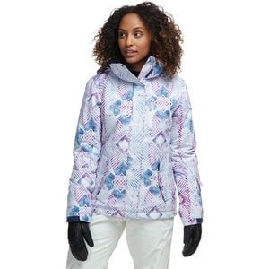 Jetty Hooded Jacket - Women's Medieval Blue Labyrinth, S - Excellent