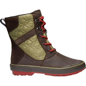 Elsa II Quilted Waterproof Boot - Women's Mulch/Martini Olive, 5.5 - Good