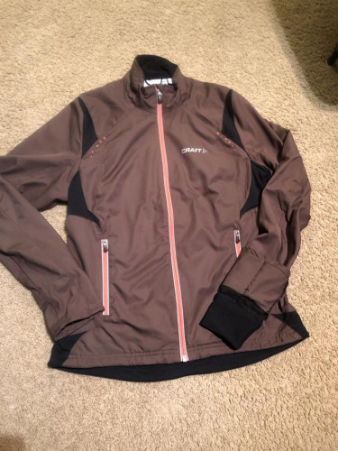 Craft women's nordic cross country ski Storm jacket size medium