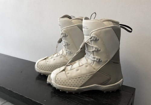 Used once snowboard boots