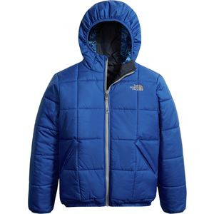 Reversible Perrito Hooded Insulated Jacket - Boys' Bright Cobalt Blue, XL - Excellent