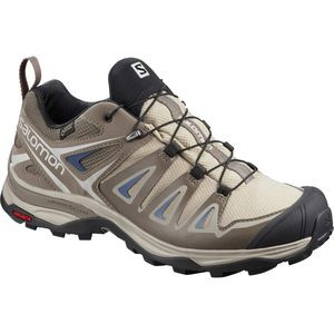 X Ultra 3 GTX Hiking Shoe - Women's Vintage Kaki/Bungee Cord/Crown Blue, US 8.5/UK 7.0 - Good