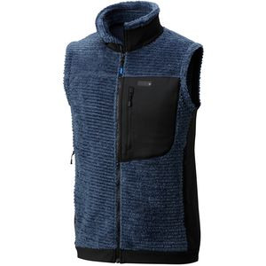 Monkey Man Fleece Vest - Men's Zinc, L - Excellent