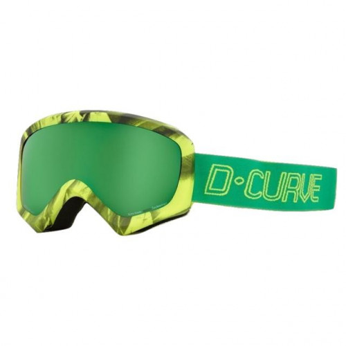 DCURVE Pano Lime Snow Goggles