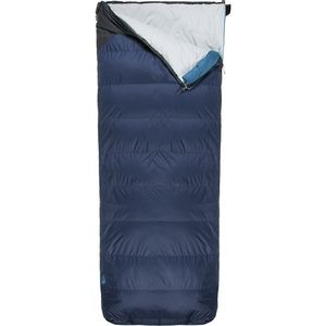 Dolomite Sleeping Bag: 20F Down Cosmic Blue/Asphalt Grey, Reg/Right Zip - Good
