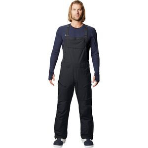 Firefall Bib Pant - Men's Black 2, M/Reg - Good
