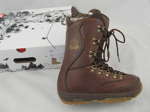 NEW $450 Burton XIII Snowboard Boots! US 7 UK 6 Mondo 25 Euro 40 Brown
