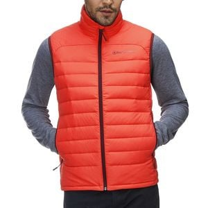 Silver Fork 750 Down Vest - Men's Fiesta/Fiesta, M - Good