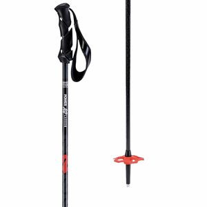 Power Carbon Ski Poles Slate, 115cm - Excellent