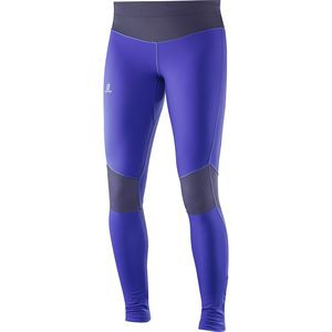 Elevate Warm Tight - Women's Phlox Violet/Nightshade Grey, L - Excellent