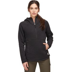 Crescent Pullover Hoodie - Women's Tnf Black Heather, XL - Good
