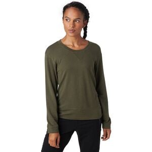 Super Soft Crew Sweatshirt - Women's General Green, S - Excellent