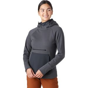 Tricot Peak Tech Hoodie - Women's Asphalt, S - Good