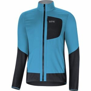 C5 Gore Windstopper Insulated Jacket - Men's Dynamic Cyan/Black, L - Fair