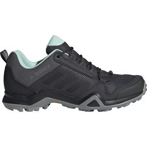 Terrex AX3 Hiking Shoe - Women's Grey Five/Black/Clear Mint, 6.0 - Excellent
