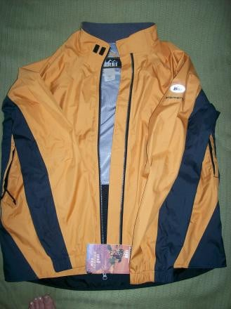 REI Elements Randonee Technical Waterproof Cycling Jacket- NWT