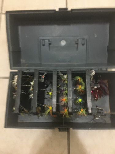 Fishing tackle Freshwater tackle box