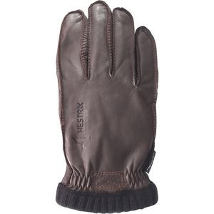 Deerskin Primaloft Ribbed Glove - Men's Dark Brown, 7 - Good