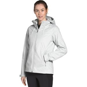 Arrowood Triclimate Hooded 3-In-1 Jacket - Women's Tin Grey/Tnf White, S - Good