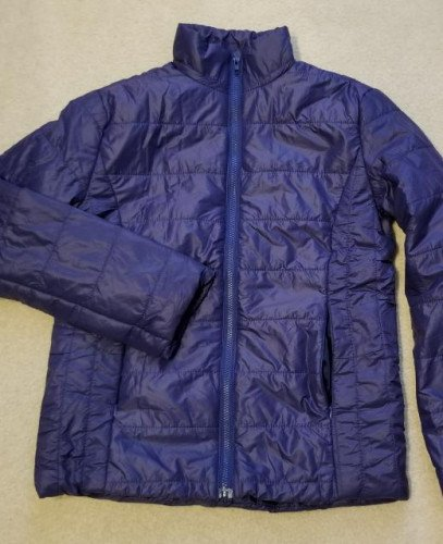 Women's 2XL asian fit (Medium? western fit) FullZip Down Jacket 7.82oz