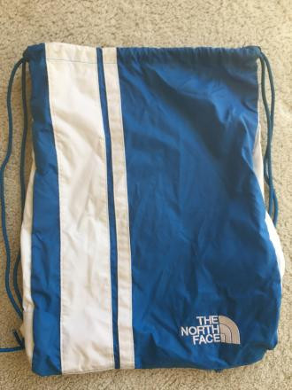 The North Face drawstring bag