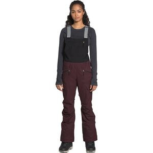 Freedom Bib Pant - Women's Root Brown/TNF Black, XS/Short - Excellent