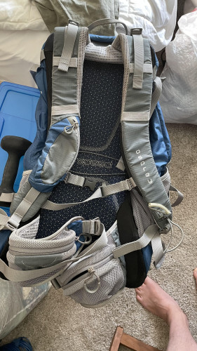 Osprey Stratos 24 day pack blue