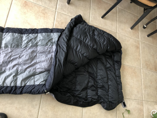 Marmot Wasatch 25 goose down Sleeping Bag